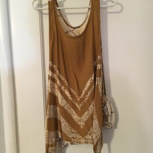 Free People two patterned tank top